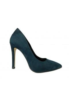 Adele 0660 Scarpe Donna Decollete a Punta Tacco Alto Camoscio Blu Decoltè A0660CBL