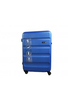 Roll Road FLEX 5849163 Trolley Cabina 55 cm 4 Ruote Rigido Blu  Trolley Rigidi 5849163BLAZ