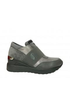 Inblu IN-212 Scarpe Donna Sneakers Slip On con Zeppa Media Grigio Francesine e Sneakers IN212GRI