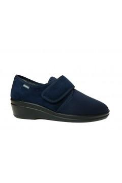 Inblu 03003D Pantofole Donna con Strappo in Tessuto Elasticizzato Blu Ciabatte e Infradito 03003DBLU