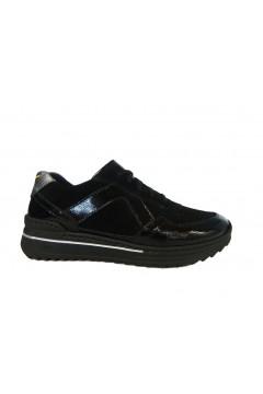 STILEDIVITA 7282 Sneakers Donna Stringate Ultra Soft Naplack Mix Nero FRANCESINE E SNEAKERS SDV7282NNR