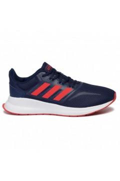 Adidas F36543 RUNFALCON K Scarpe Ginnastica Running Blu Rosso Francesine e Sneakers F36543