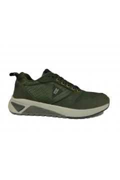 Navigare 925037 Nuvolari Scarpe Uomo Sneakers Memory Foam Verde Sneakers NAM925037VR