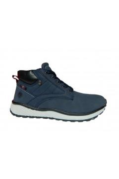 Navysail Navigare 925005 L Scarpe Bambino Sneakers Mid Blu Scarpe Bambino N925005LBLU