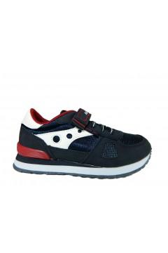 Navysail Navigare 923015 Scarpe Bambino Sneakers Lacci Elastici Blu Scarpe Bambino N923015BLU