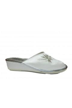 AXA 20743 Pantofole Donna Sposa in Raso Bianco Ciabatte e Infradito 20743BIA