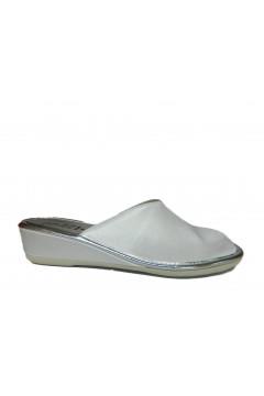 AXA 20748 Pantofole Donna Sposa in Raso Bianco Ciabatte e Infradito 20748BIA