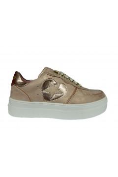 Asso AG 3007 Scarpe Bambina Sneakers Stringate Rosa Scarpe Bambina AG3007ROS
