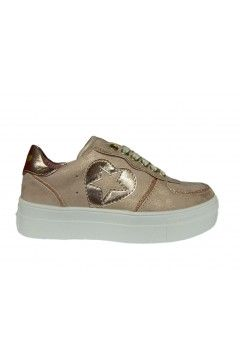 Asso AG 3007 Scarpe Bambina Sneakers Stringate Rosa BAMBINA AG3007ROS
