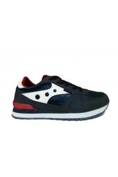 Navysail Navigare 923015 L Scarpe Bambino Sneakers Stringate Blu BAMBINO N923015LBLU