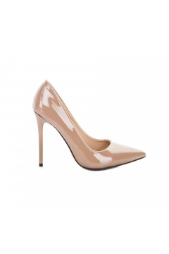 Gold & Gold GD160 Scarpe Donna Decollete Tacco Alto in Vernice Nude Decoltè GD160NUD