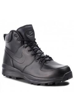 Nike Manoa Leather 454350 700 Scarpe Uomo Stringate Alte Nero  Casual 415445001