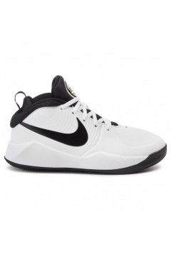 Nike Team Hustle D 9 (GS) AQ4224 100 Scarpe Basket Bianco Nero Francesine e Sneakers AQ4224100