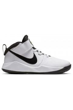 Nike Team Hustle D9 (PS) AQ4225 100 Scarpe da Ginnastica Basket Bianco Scarpe Bambino AQ4225100