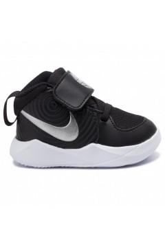 Nike Team Hustle D9 (TD) AQ4226 001 Scarpe da Ginnastica Mid Strappo Nero BAMBINO AQ4226001
