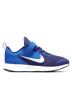 Nike Downshifter 9 (PSV) AR4138 400 Scarpe da Ginnastica Lacci Elastici Blu Scarpe Bambino AR4138400