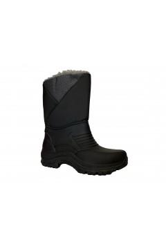 Doposci Unisex DSGB01 Stivali da Neve in Gomma con Imbottitura Nero Stivali  DSGB01NR