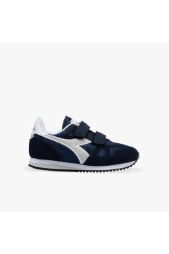 Diadora Simple Run PS Scarpe da Ginnastica Bambino con Strappi Blu Corsair BAMBINO 1011743830160063
