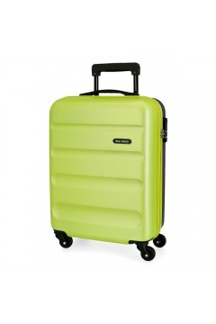 Roll Road FLEX 5849168 Trolley Cabina 55 cm 4 Ruote Rigido Verde Lime Antracite Trolley Rigidi 5849167LANT