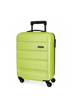 Roll Road FLEX 5849168 Trolley Cabina 55 cm 4 Ruote Rigido Verde Lime Antracite Trolley Rigidi 5849167LANT