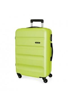 Roll Road FLEX 5849266 Trolley Medio 4 Ruote Rigido Verde Lime Trolley Rigidi 5849266VLIME