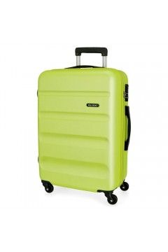 Roll Road FLEX 5849366 Trolley Grande 4 Ruote Verde Lime Trolley Rigidi 5849366VLIME