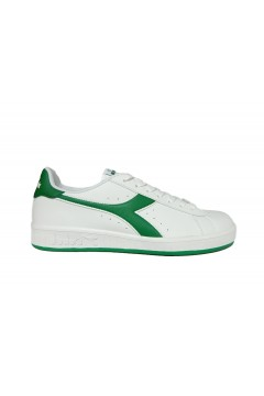 Diadora Game P Sneakers Uomo Stringate Bianco Verde Jelly Bean Scarpe Sport 10116028101C8506