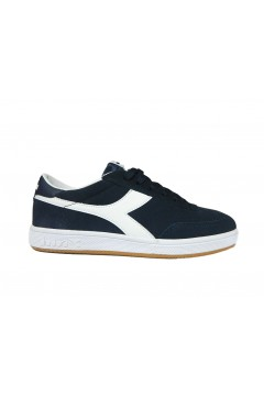 Diadora Field Sneakers Uomo Stringate Suede Blu Corsair Bianco Scarpe Sport 10117235401C1512