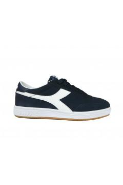 Diadora Field Sneakers Uomo Stringate Suede Blu Corsair Bianco SPORT 10117235401C1512