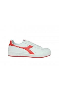 Diadora Game P Sneakers Uomo Stringate Bianco Rosso Scarpe Sport 10116028101C0673