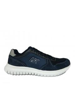 Lumberjack Yuri SM54312 001 Sneakers Uomo Stringate Blu Sneakers SM54312001CC023