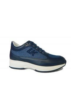 Lumberjack Raul SW01305 X86 Sneakers Donna Stringate Zeppa Interna Navy Blu Francesine e Sneakers SW01305008X86CC001