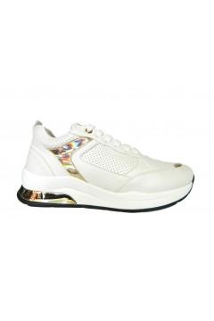 KEYS K 1300 Scarpe Donna Sneakers Stringate Bianco Francesine e Sneakers K1300BIA