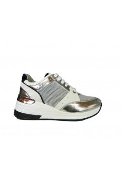 KEYS K 1001 Scarpe Donna Sneakers Stringate Argento Francesine e Sneakers K1001ARG