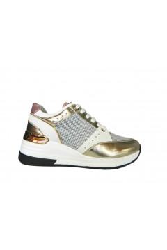 KEYS K 1001 Scarpe Donna Sneakers Stringate Oro Francesine e Sneakers K1001ORO