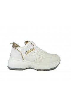 KEYS K 900 Scarpe Donna Sneakers Stringate Interactive Oversize Bianco Francesine e Sneakers K900BIA