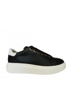 KEYS K 400 Scarpe Donna Sneakers Stringate Oversize Nero Francesine e Sneakers K400NR