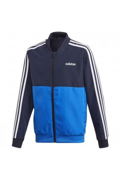Adidas FM6562 Tuta Completa Bambino Blu Bianco Royal Abbigliamento Bambino FM6562