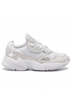 Adidas B28129 Falcon W Sneakers Donna Camoscio Mesh Nero Francesine e Sneakers B28129
