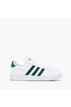Adidas EG3840 Grand Cuort Sneakers Uomo Bianco Verde Scarpe Sport EG3840