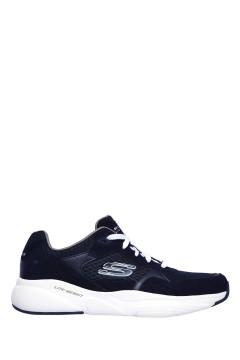 SKECHERS 52952 NVW Scarpe da Ginnastica Uomo Suede Mesh Blu Scarpe Sport 52952NVW