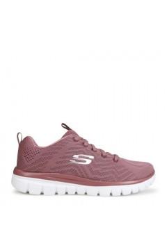 SKECHERS 12615 MVE Scarpe Donna Sneakers Memory Foam Malva Francesine e Sneakers 12615MVE