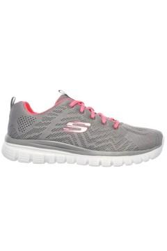 SKECHERS 12615 GYCL Scarpe Donna Sneakers Memory Foam Grigio Francesine e Sneakers 12615GYCL