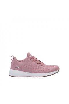SKECHERS 117006 PNK Scarpe Donna Sneakers Memory Foam Rosa Francesine e Sneakers 117006PNK