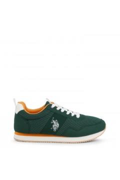 U. S. Polo Ass. EXTE Scarpe Uomo Sneakers Stringate Verde Sneakers EXTEGRE