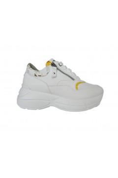 KEYS K 701 Scarpe Donna Sneakers Stringate Platform Oversize Bianco Francesine e Sneakers K701BIA