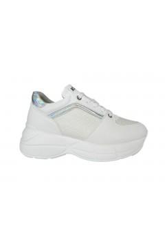 KEYS K 700 Scarpe Donna Sneakers Stringate Platform Oversize Bianco Francesine e Sneakers K700BIA