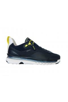 Geox U Levita A U029XA Sneakers Uomo Slip On Blu  Sneakers U029XA06K85C4002