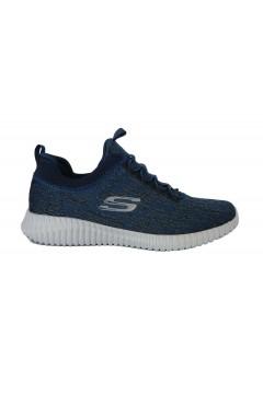 SKECHERS 52642 NVY Scarpe da Ginnastica Uomo Slip On Melange Blu Scarpe Sport 52642NVY