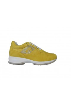 Gold & Gold GA280 Sneakers Donna Interactive Stringate Giallo Francesine e Sneakers GA280GIA
